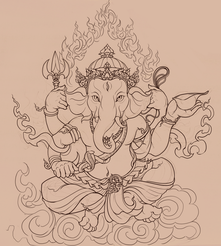 ganesh images for drawing studio design gallery