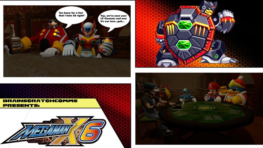 Mega Man X6 - BSC Thumbnail by EX388