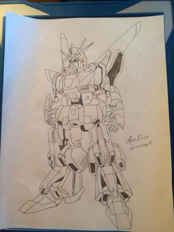 Air Raid Gundam by EX388