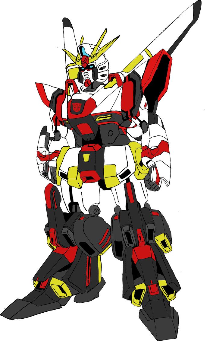 Air Raid Gundam - Colored Concept by EX388