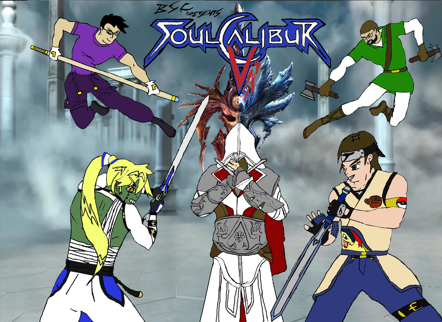 BSC Presents - Soul Calibur V by EX388