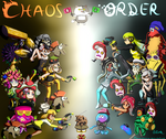Splatoon 2 Final Splatfest: CHAOS vs ORDER