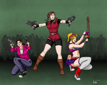 Commission: Zoey, Claire and Juliet - Part 1 of 3