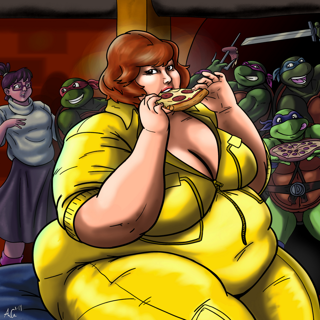 Ample April O'Neil by Ray-Norr