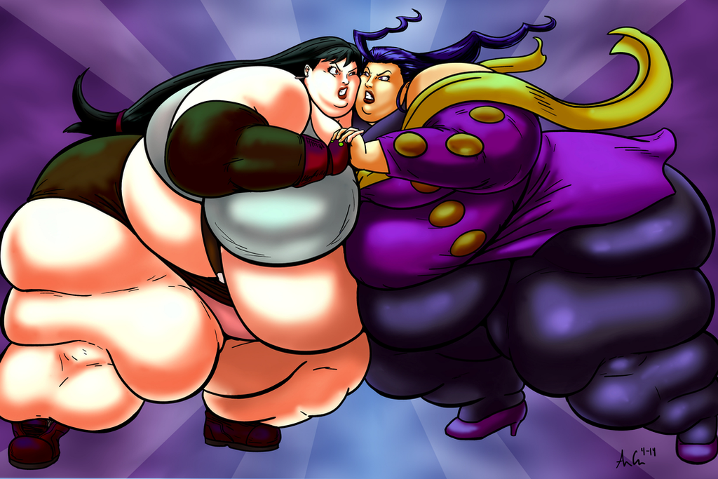 Commission: Tifa vs Rose - 4 of 4 by Ray-Norr