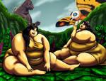 Mothra's Super-sized Shobijin