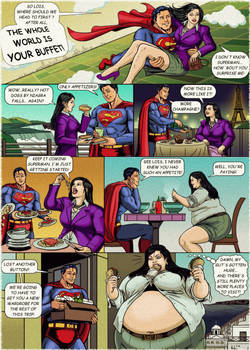 Lois Lane: The World is Your Buffet!