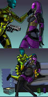 A Captured Quarian, pt 1 by Ray-Norr