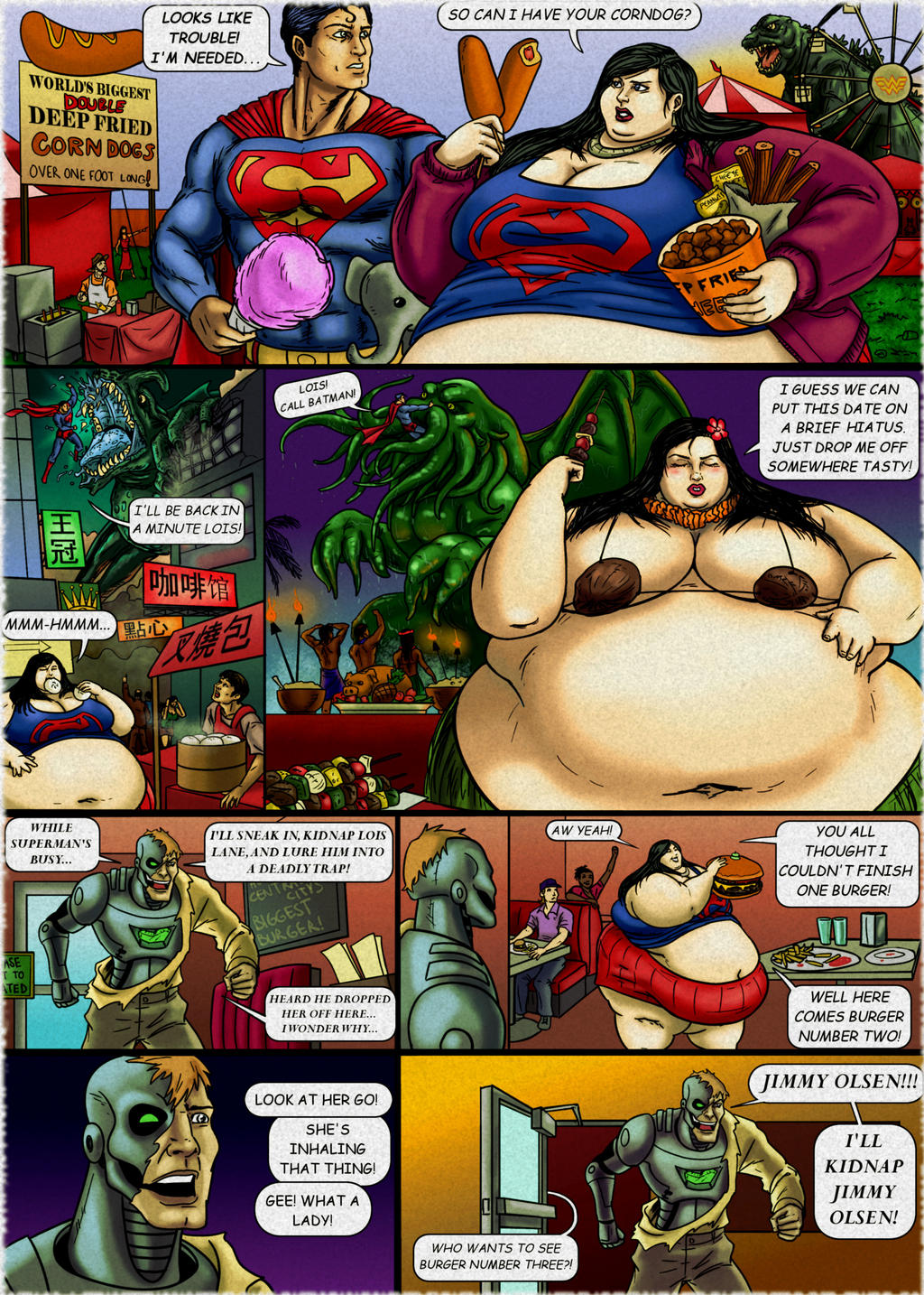Lois Lane: The World is Your Buffet! pg3 by Ray-Norr