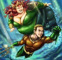 Cryssy and Kevin of Atlantis by Ray-Norr