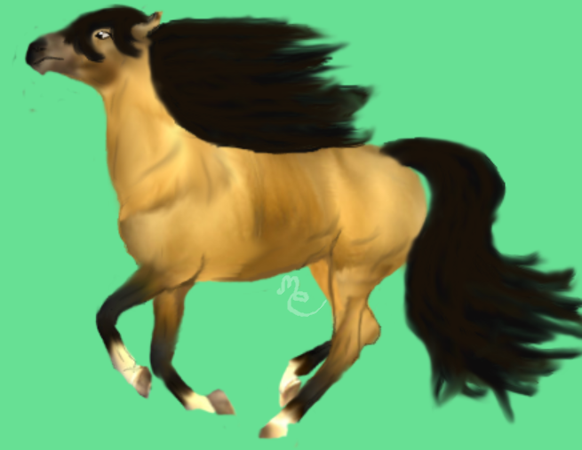 Project1 horse by UndercoverArtist1