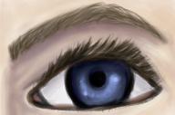 Eye Sketch by elleblack