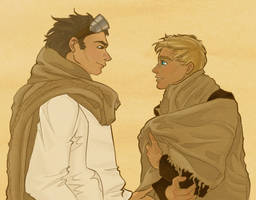 Han and Luke by NautilusL2