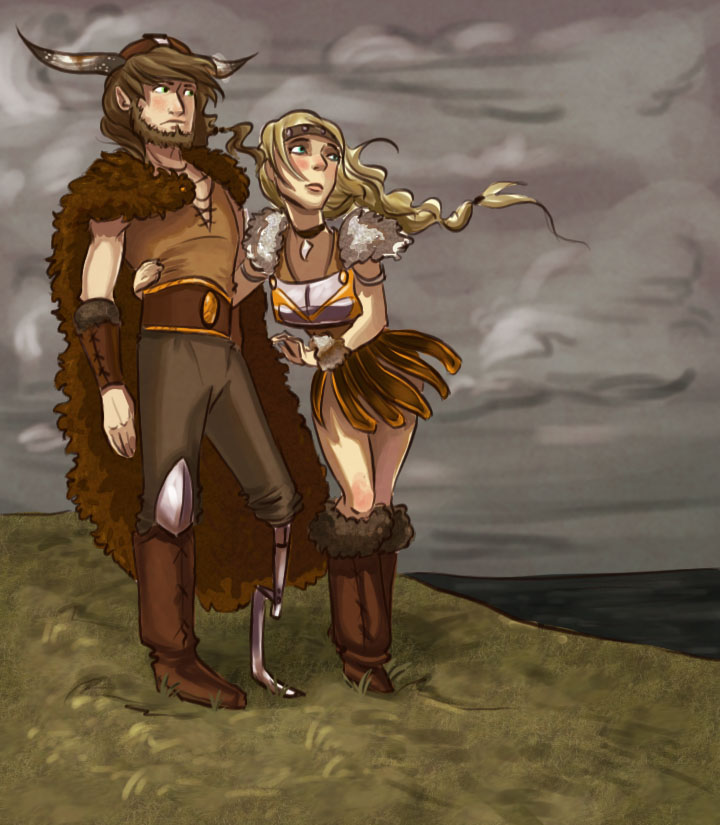 Hiccup And Astrid By NautilusL2 On DeviantArt
