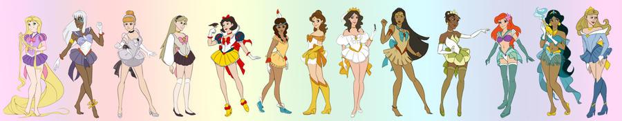 Sailor Princesses Reboot by NautilusL2