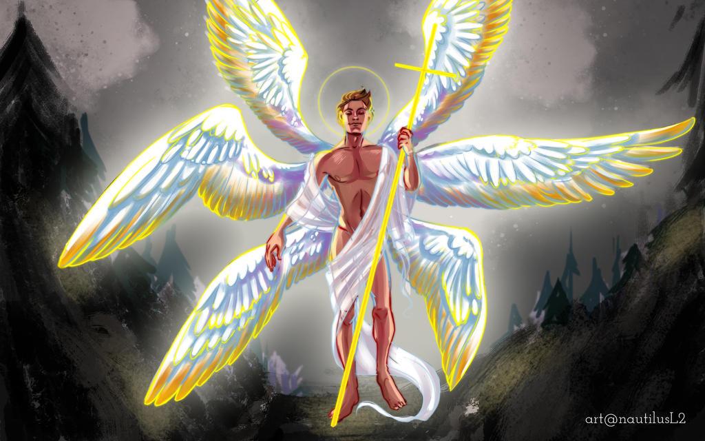 Archangel Gabriel - secret santa by NautilusL2 on DeviantArt