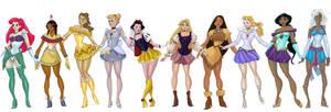 Sailor Princesses Away