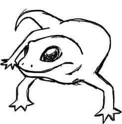 Gecko Outline