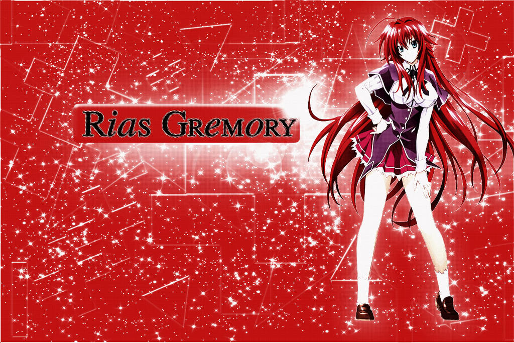 Wallpaper Rias Gremory by SuperstarElevate
