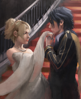 Luna and Noctis by ljyotk