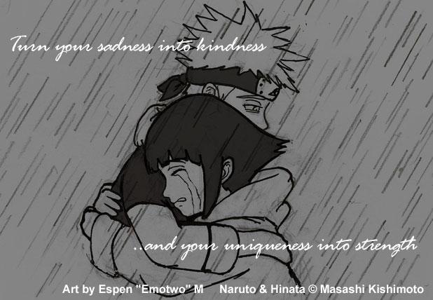 Naruto N Hinata Sorrow N Rain By Emotwo On Deviantart