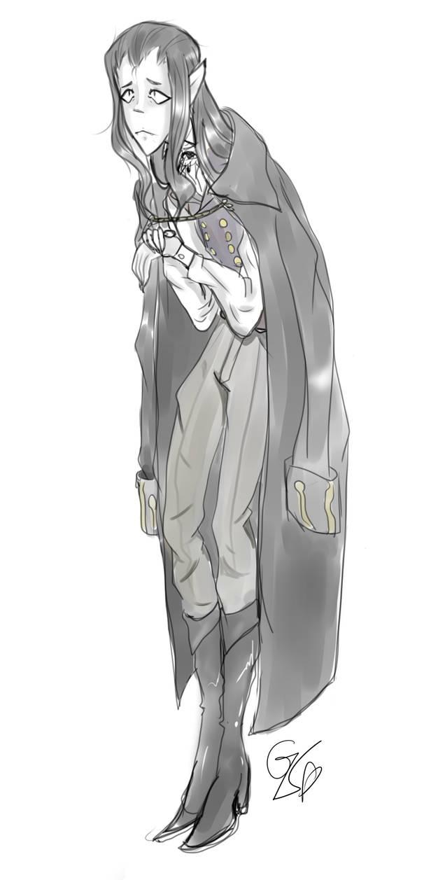 Lorin the shy vampire