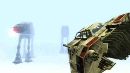 [Star Wars] Hoth Battle