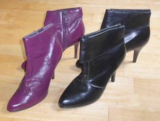 Batty-Catty-retro-boots by WondieIADC