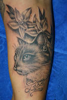 kitty cat by alphatattoo