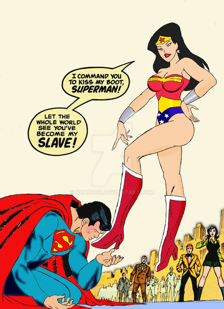 the domination of wonder woman