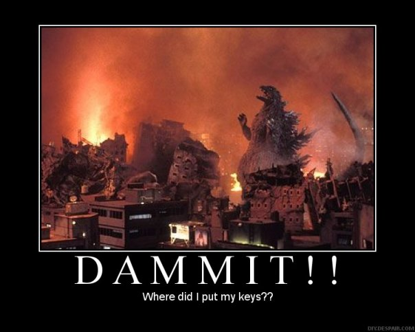 Godzilla Dammit