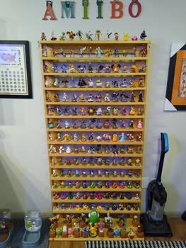 (updated Amiibo shelf) filled up