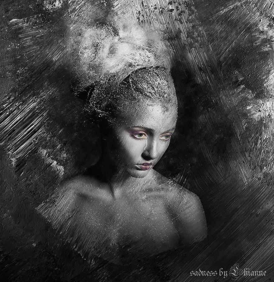 sadness by Lhianne