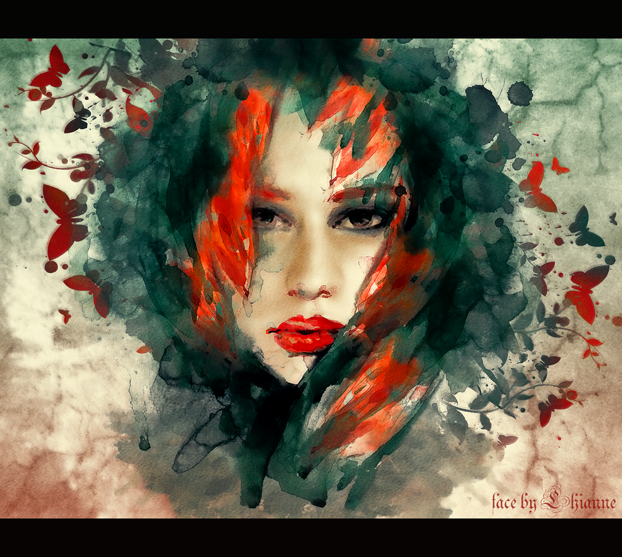 face by Lhianne