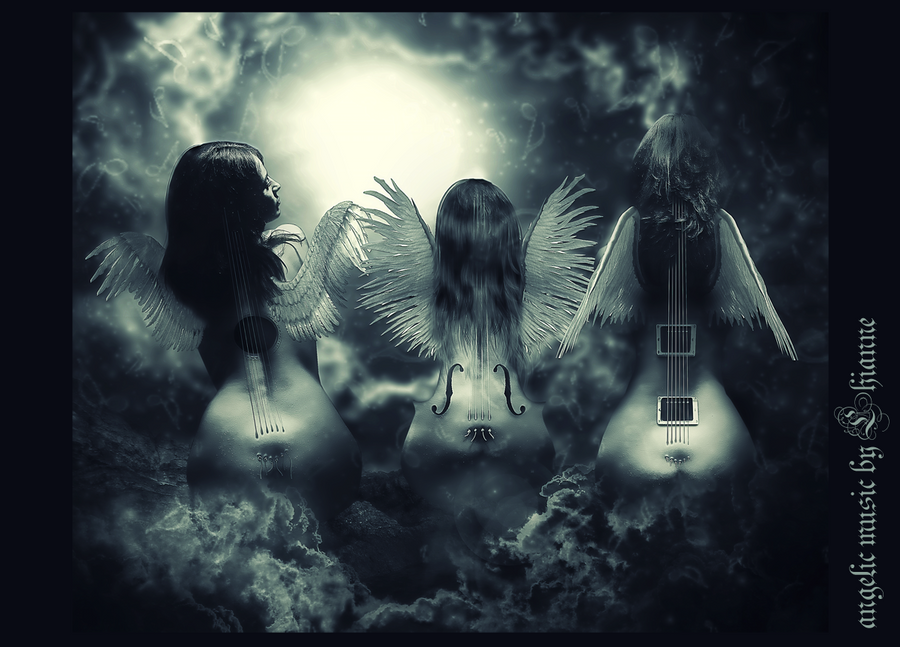 angelic music by Lhianne