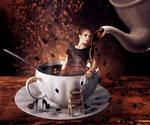 I love coffee like...