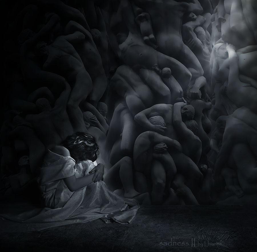 sadness II by Lhianne