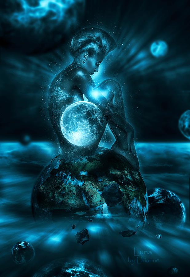 Luna by Lhianne