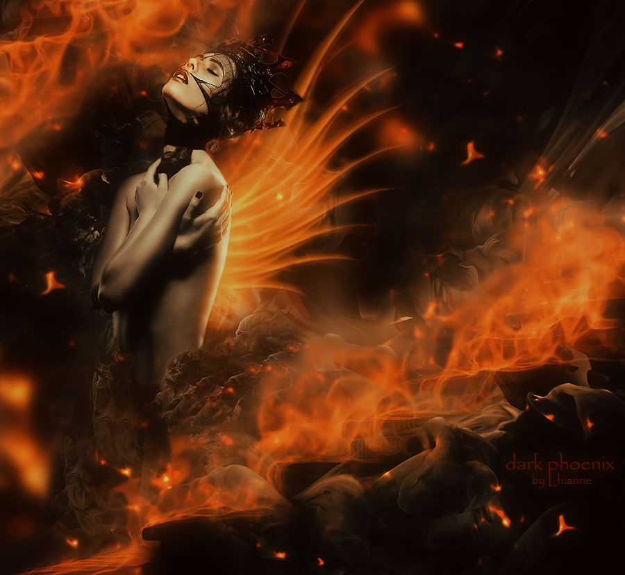 Dark Phoenix by Lhianne