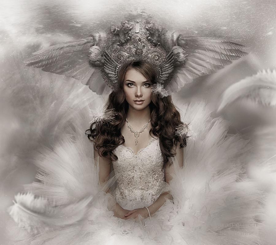 Swan Queen by Lhianne