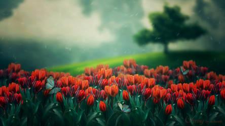 Spring by Lhianne