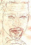 Brad Pitt sketch.