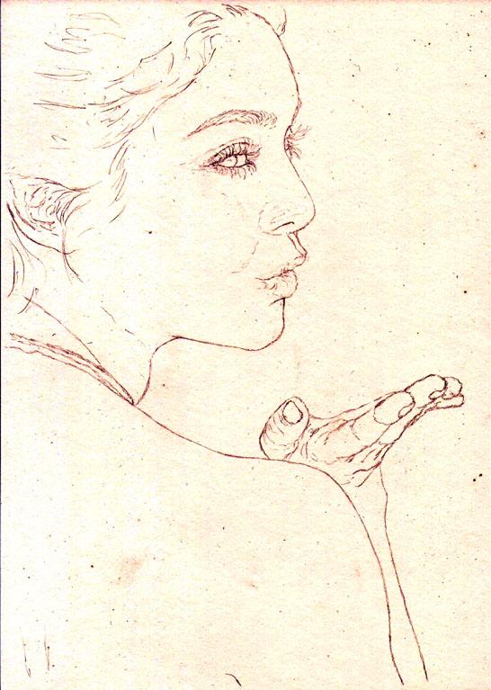 Vanessa Hudgens portrait - Sketch.