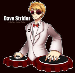 Dave Strider in a Suit