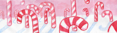 Candy Cane Forest Background By Lilseasalt On Deviantart