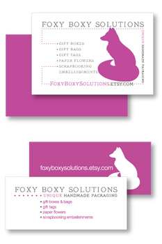 Foxy Boxy Solutions Business Cards