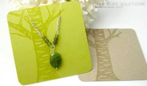 Jewelry Cards - Birch Tree Design
