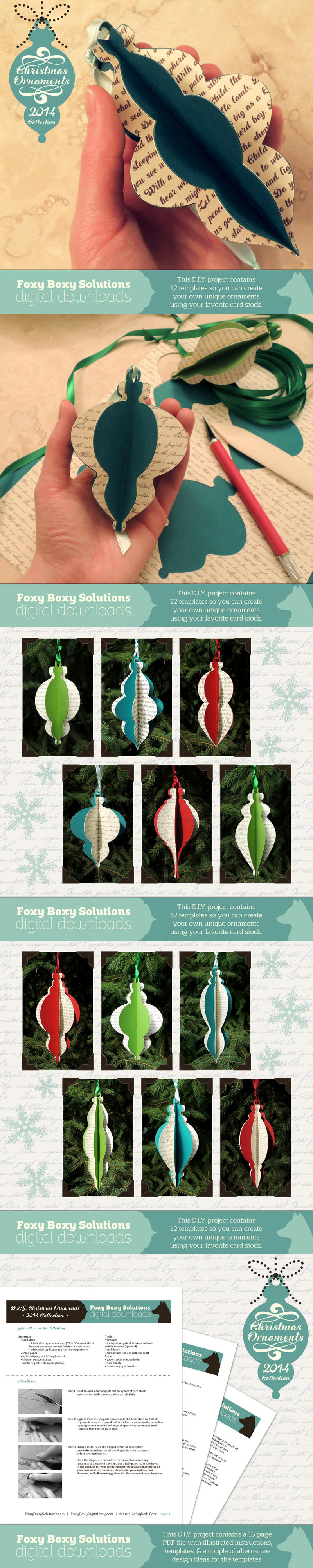 Christmas Ornaments 2014 Collection