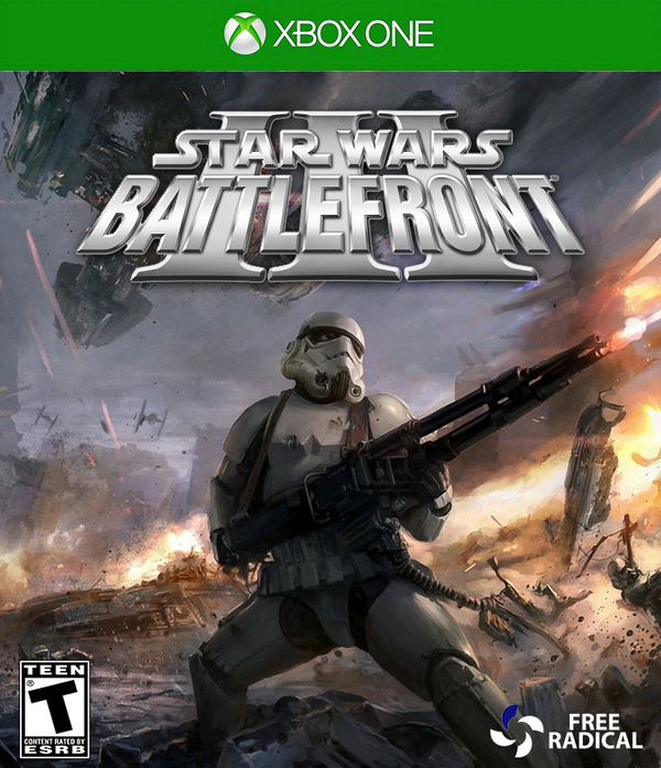 star wars battlefront 3 xbox one front cover by. Black Bedroom Furniture Sets. Home Design Ideas