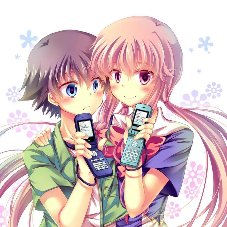 Yukiteru Amano y Yuno Gasai by StarLightDestiny on DeviantArt